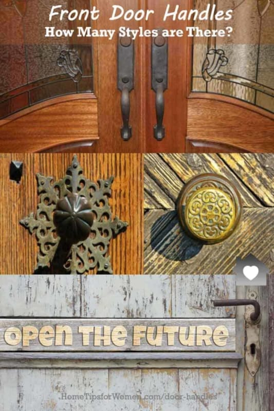 what type of front door handle do you have today? and want tomorrow?
