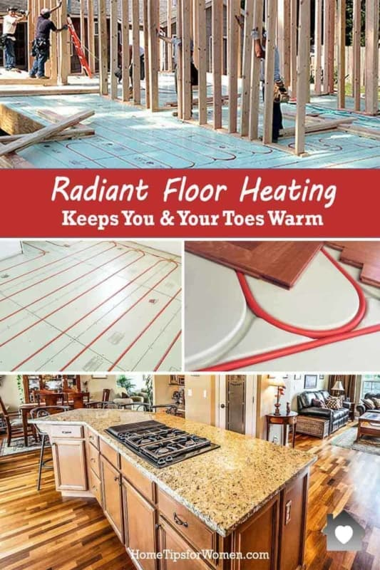 Radiant Floor Heating Keeps Your Toes Warm Home Tips For