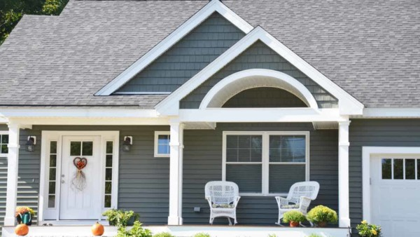 a new coat of exterior paint will enhance your home's curb appeal
