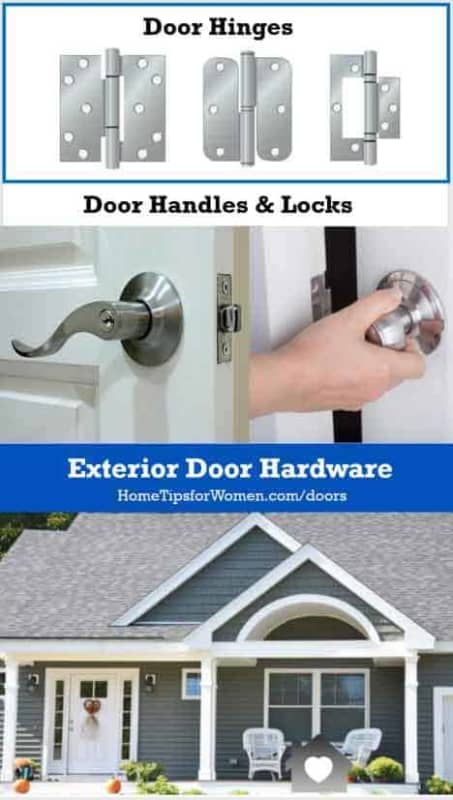ordering a door involves a lot of information & decisions from door style to handles/knobs & locks