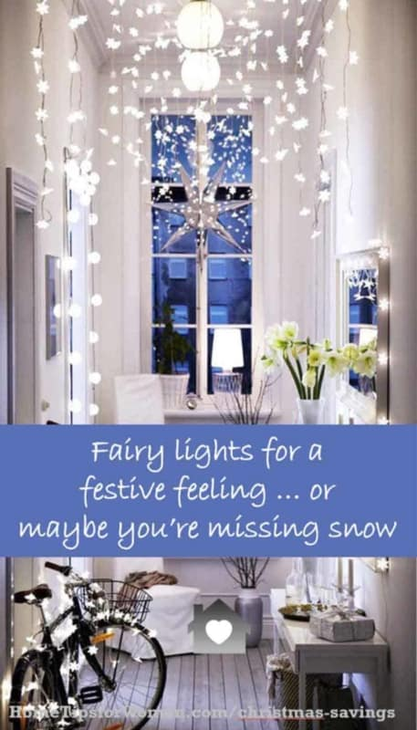 some lights can be enjoyed for other holidays, another Christmas savings idea