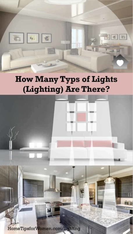 there are many types of lights to pick from when designing a room