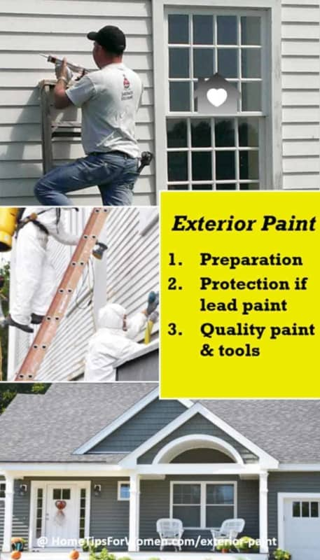 you've got to follow 3 important steps to insure your exterior paint project gives you great results