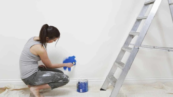 one of the most common painting mistakes is not testing a color before you paint the entire room