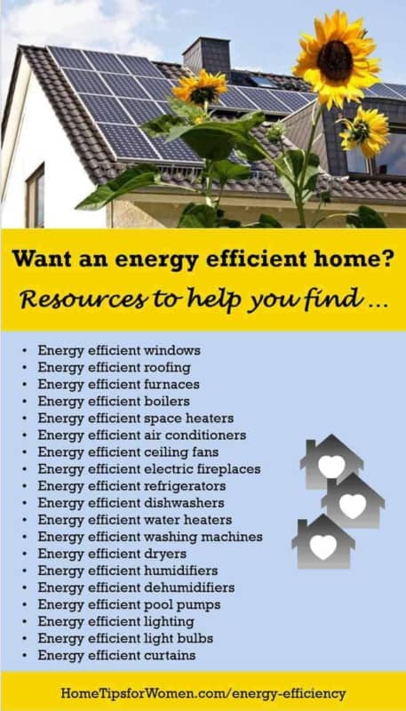 energy efficient homes are full of qualified energy start products like windows & refrigerators