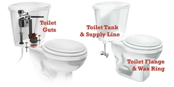 learn how to repair a toilet when the problem is isolated inside the tank & possibly outside the tank