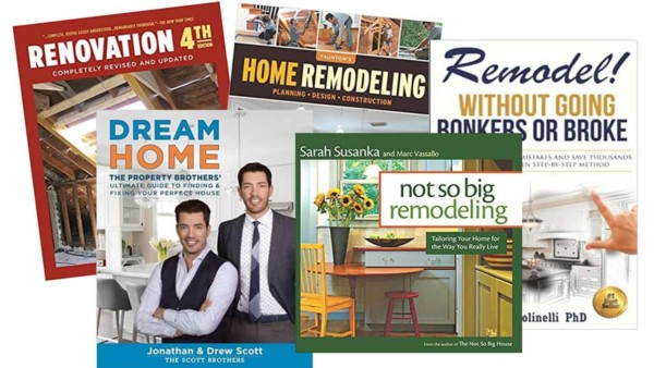 home remodeling books help you cover all aspects of a remodeling project, focusing on how your home is built