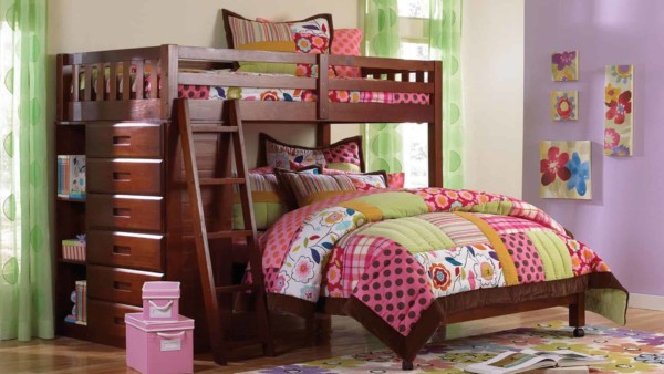 a bed for small bedrooms will pack in lots of features like this dresser