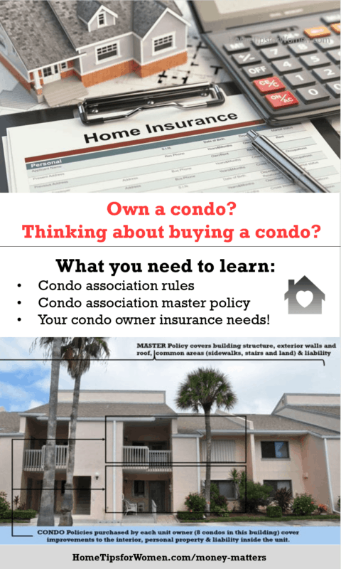 infographic outlining what you need to learn to buy the right condo insurance