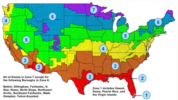 energystar map of the us showing insulation zones