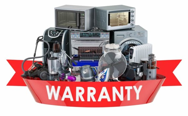 warranty ribbon around appliances to cover cost of an appliance repair