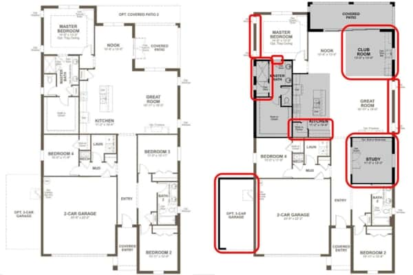 Structural changes to your home's floor plan are decided before you visit the design center ...