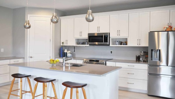 better kitchen design & cabinets than Richmond American offered for same price