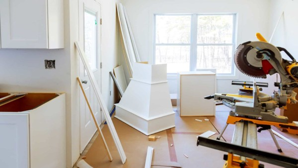 kitchen remodel underway as it's one of the most popular remodeling projects