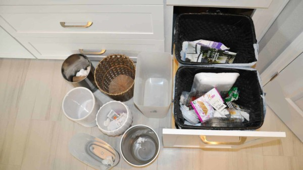 house cleaning rules should including cleaning (not just emptying) all trash cans